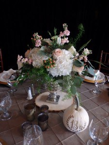 Table decor by SWANK